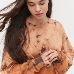 Urban Renewal Recycled Desert Tie-Dye Crew Neck Sweatshirt | Urban Outfitters (US and RoW)