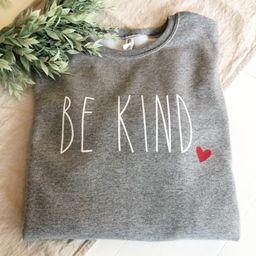 BE KIND Sweatshirt | Etsy (US)