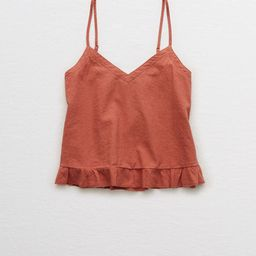 Aerie Easy Ruffle Tank   American Eagle Outfitters (US & CA)