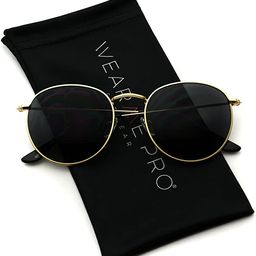 WearMe Pro - Reflective Lens Round Trendy Sunglasses   Amazon (US)