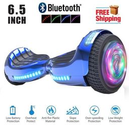 """Hoverboard Bluetooth Two-Wheel Self Balancing Electric Scooter 6.5"""" UL 2272 Certified with Blueto... 