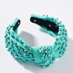 Lele Sadoughi Pistachio Knotted Headband | Anthropologie (US)