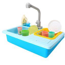 Tuscom Color Changing Kitchen Sink Toys Children Heat Sensitive Thermochromic Dishwash | Walmart (US)