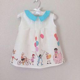 Children On Parade Dress Birthday Party Dress, peter pan collar toddler birthday dress | Etsy (US)