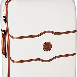 DELSEY Paris Chatelet Hard+ Hardside Luggage with Spinner Wheels, Champagne White   Amazon (US)