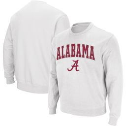 Alabama Crimson Tide Colosseum Arch & Logo Crew Neck Sweatshirt - Crimson | Fanatics