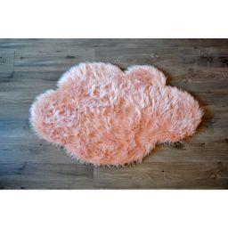 Faux Sheepskin Blush Area Rug   Wayfair North America