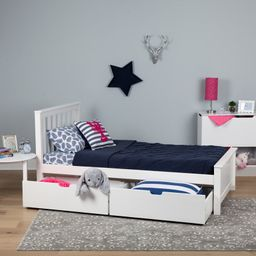 Boling Platform Bed with Drawers and Trundle   Wayfair North America