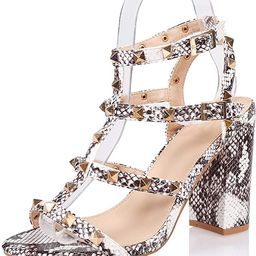 Women's Fashion Stiletto High Heel Sandal Pump Shoe   Amazon (US)