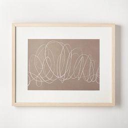 "30"" x 24"" Scribble Art Print - Threshold™ designed with Studio McGee | Target"