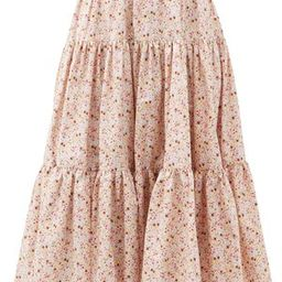 Amy tiered floral-print cotton skirt | Matchesfashion (Global)