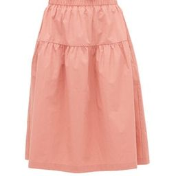 Ulu paperbag-waist cotton-poplin skirt | Matchesfashion (Global)