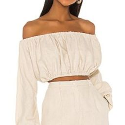 Song of Style Anna Top in Sandstone Beige from Revolve.com | Revolve Clothing (Global)
