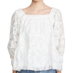 Moon River White Blouse | Shopbop