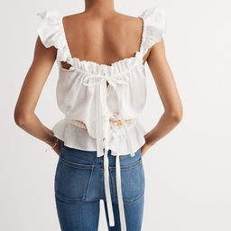 Innika Choo Daisy Embroidered Singlet Top | Madewell