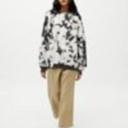 Urban Renewal Recycled Monochrome Tie-Dye Crew Neck Sweatshirt   Urban Outfitters (US and RoW)