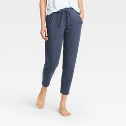 """Women's French Terry Joggers 27"""""""" - All in Motion Navy Heather XS, Women's, Blue Grey   Target"""