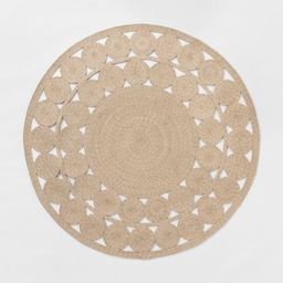 6' Round Ornate Woven Outdoor Rug - Opalhouse™   Target