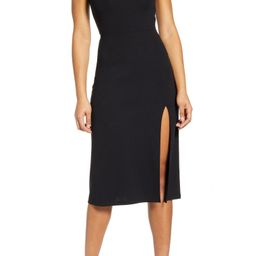 Scoop Neck Midi Dress | Nordstrom