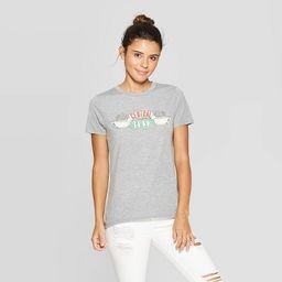 Women's Friends Central Perk Short Sleeve Graphic T-Shirt (Juniors') - Heather Gray   Target