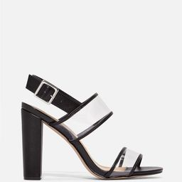 Clearly The One Clear Heeled Sandal | JustFab
