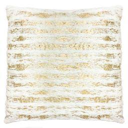 Mercer41 Robertson Faux Fur Stripe Throw Pillow   Wayfair   Wayfair North America