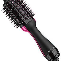 Revlon One-Step Hair Dryer And Volumizer Hot Air Brush, Black | Amazon (US)