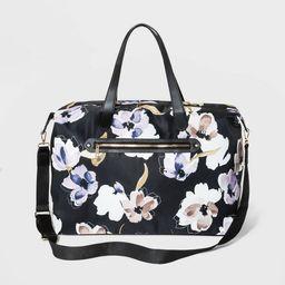 Zip Closure Weekender Bag - A New Day™ | Target
