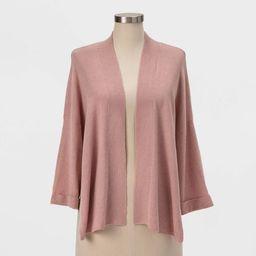 Women's Knit Kimono - A New Day™ Pink | Target