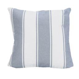 Stratton Home Decor Blue Stripe Pillow | Walmart (US)