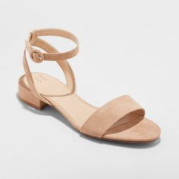 Women's Winona Ankle Strap Sandal - A New Day™   Target