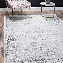 Unique Loom Sofia Traditional Area Rug, 8' 0 x 10' 0, Gray | Amazon (US)