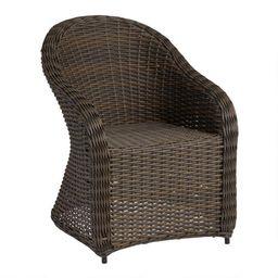 All Weather Wicker Capistrano Outdoor Armchair | World Market