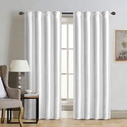 Therapedic® Carlisle 100% Blackout Rod Pocket Window Curtain Panel | Bed Bath & Beyond
