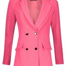 Tall Neon Tailored Blazer | Boohoo.com (US & CA)