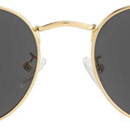 Small Round Polarized Sunglasses for Men Women Mirrored Lens Classic Circle Sun Glasses   Amazon (US)