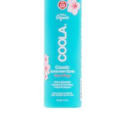 COOLA Classic Body Organic Guava Mango Sunscreen Spray SPF 50 from Revolve.com   Revolve Clothing (Global)