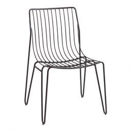 Metal Hairpin Amara Outdoor Stacking Chairs Set of 2 | World Market
