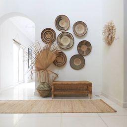 A set of 5 African Wall Baskets  /Binga Wall Baskets / African Wall Hanging  / Tonga Wall Basket ...   Etsy (US)