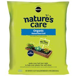 Nature's Care 1.5 cu. ft. Raised Bed Soil   The Home Depot
