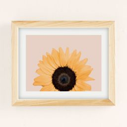 Sisi And Seb Pretty Sunflower Art Print | Urban Outfitters (US and RoW)