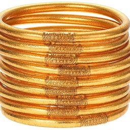 BuDhaGirl Gold All Weather Bangles (AWB) - Serenity Prayer | Amazon (US)