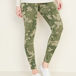 Mid-Rise Printed Jersey Leggings for Women   Old Navy (US)