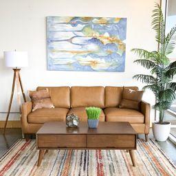 Deirdre Leather Sofa | Wayfair North America