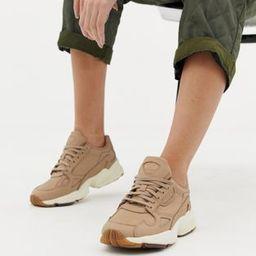 adidas Originals premium Falcon sneakers in beige | ASOS US