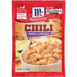 McCormick White Chicken Chili Seasoning Mix 1.25 oz | Target