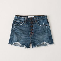 High Rise Mom Shorts | Abercrombie & Fitch (US)