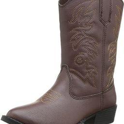 Ranch Unisex Pull On Western Cowboy Fashion Comfort Boot (Little Kid/Big Kid) | Amazon (US)