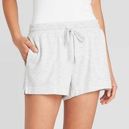 Women's Perfectly Cozy Lounge Pajama Shorts - Stars Above™ | Target