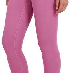 Ankle Length High Waist Power Flex Leggings - 7/8 Tummy Control Yoga Pants   Amazon (US)